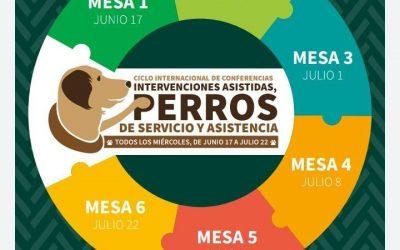 La Oficina IAA/URJC, participa en el CICLO INTERNACIONAL DE CONFERENCIAS: INTERVENCIONES ASISTIDAS CON ANIMALES, PERRO DE SERVICIO Y ASISTENCIA.