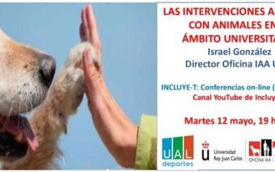 Conferencia Intervenciones Asistidas con Animales en el ámbito Universitario