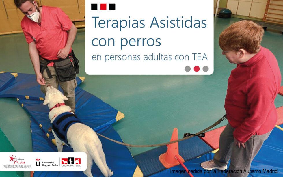 La Oficina de Intervención Asistida con Animales (OIAA) y la Federación Autismo Madrid trabajan en una investigación sobre las personas adultas con Trastorno del Espectro del Autismo (TEA)