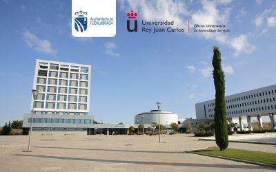 La Universidad Rey Juan Carlos firma un acuerdo con el Ayuntamiento de Fuenlabrada para desarrollar un Protocolo de Actuación en el marco del Aprendizaje-Servicio