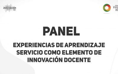 """La Oficina Universitaria de Aprendizaje Servicio publica el video del panel """"Experiencias de Aprendizaje-Servicio como elemento de innovación docente"""""""