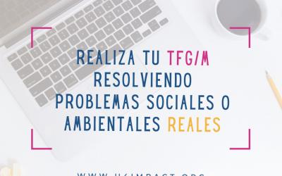 U4impact – TFGs y TFMs con impacto social o ambiental – Convocatoria febrero 2021