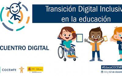 """La Confederación Española de Personas con Discapacidad Física y Orgánica celebra el encuentro """"Transición Digital Inclusiva en la Educación"""""""