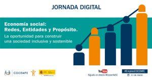 COCEMFE Jornada Redes Entidades y Proposito Cartel