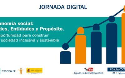 La Confederación Española de Personas con Discapacidad Física y Orgánica organiza una jornada digital sobre economía social