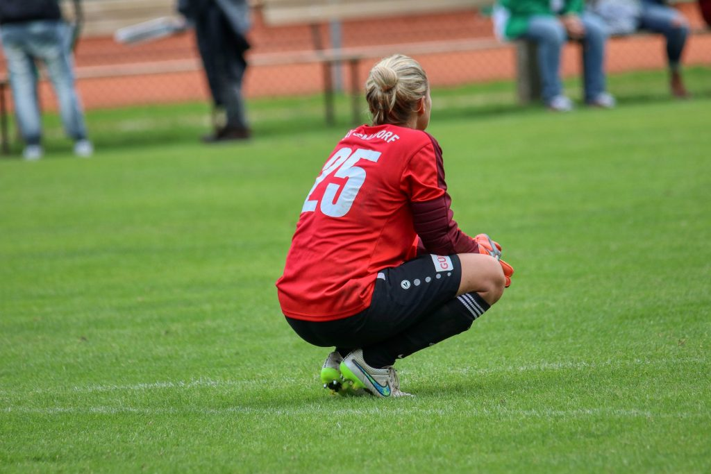 partido de fútbol femenino