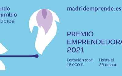 El Ayuntamiento de Madrid convoca la XI edición del Premio Emprendedoras