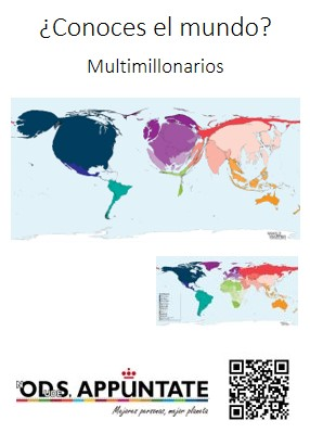 Imagen ODS URJC Infografías sobre la situación en el mundo: desigualdad, epidemias