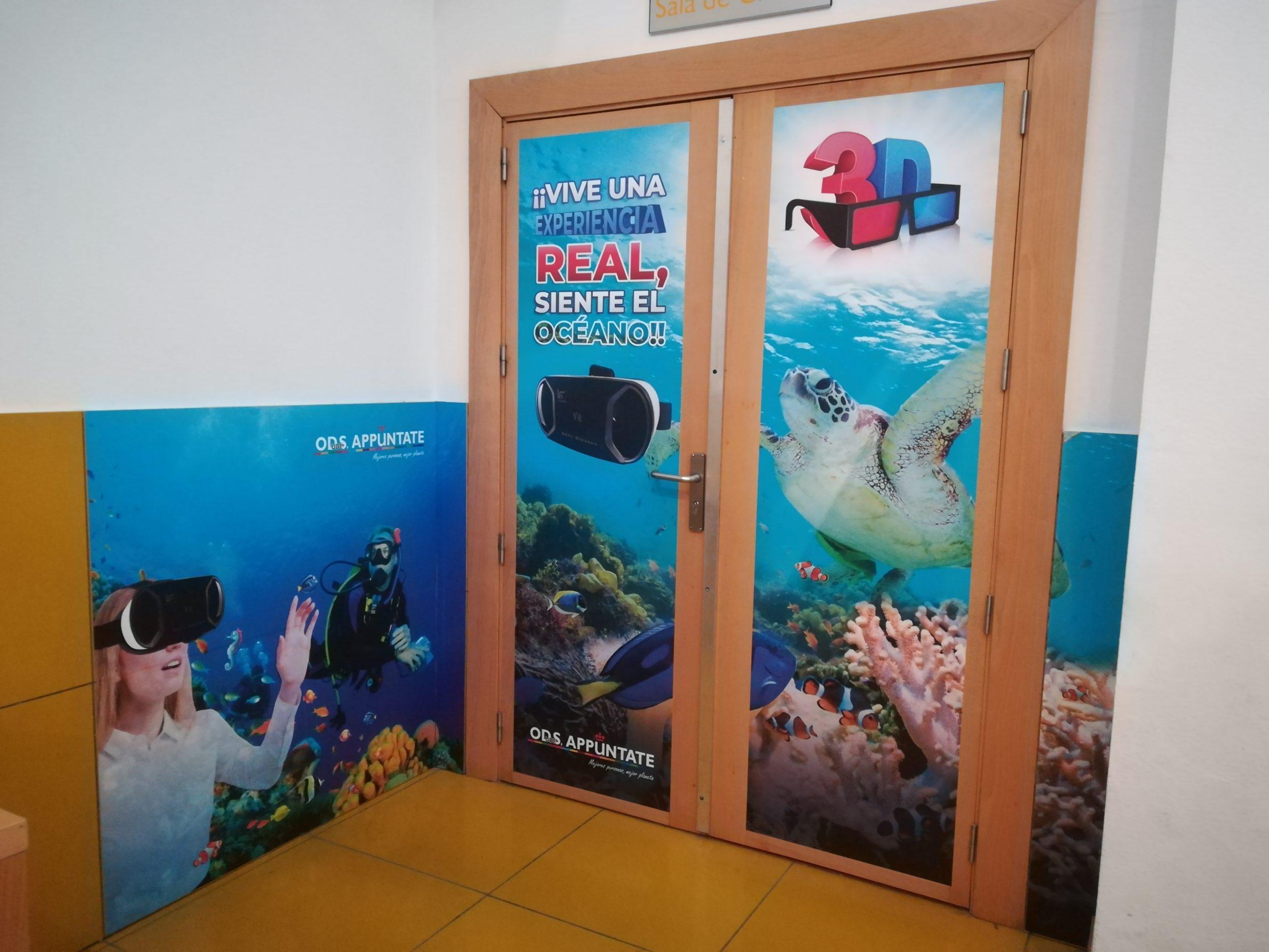 Imagen ODS URJC Acción para la concienciación sobre la contaminación marina